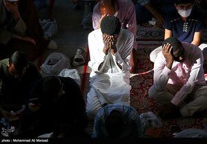 عکس/ دعای عرفه در حرم حضرت معصومه(س)
