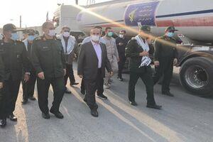 کاروان جدید تانکرهای آبرسان سپاه به خوزستان رسید - کراپشده