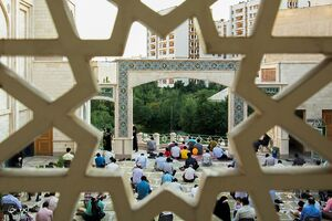 عکس/ مراسم دعای عرفه نسل توحیدی