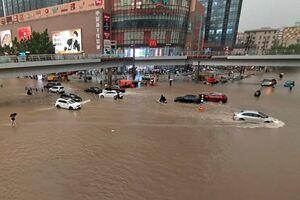 فیلم| سیل و شکستن سد در چین؛ ۱۲ نفر کشته شدند