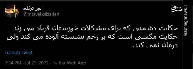 دشمن در خوزستان مثل مگسه!