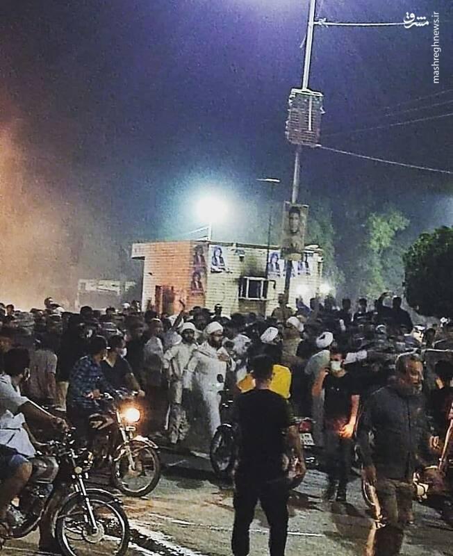 آخوند در میدان +عکس