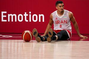 تمرین تیم ملی بسکتبال ایران در توکیو