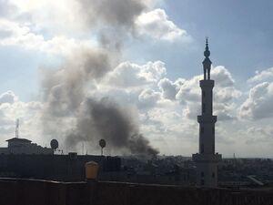 انفجار در غزه