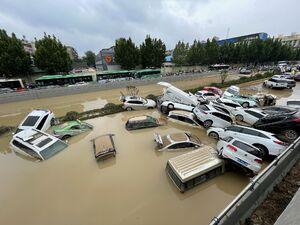 خسارات سیل سنگین روز گذشته چین