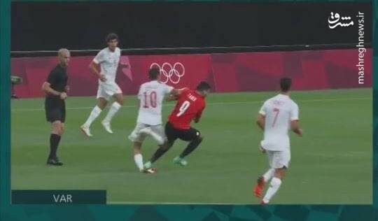 مصدومیت دلخراش بازیکن رئال در المپیک +عکس