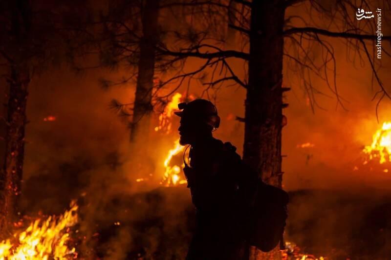 آتشسوزی گسترده در غرب کانادا