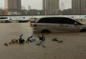 شمار قربانیان سیلاب چین به ۵۱ نفر رسید