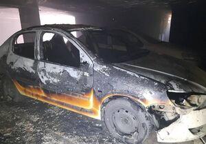 ۴ مصدوم بر اثر آتشسوزی شدید در ساختمان ۸ واحدی +فیلم و عکس