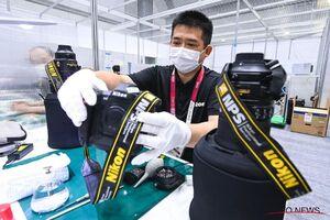 عکس/ دفتر سرویسدهنده نیکون به عکاسان در المپیک