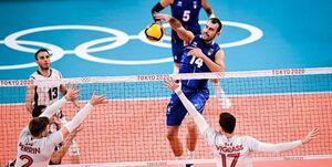 گزارش خبرنگار اعزامی فارس از توکیو| نبرد همگروههای والیبال ایران را ایتالیا برد