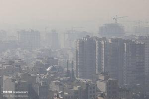 ازن کیفیت هوای تهران را کاهش داد