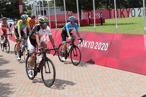 دوچرخهسوار ایران به خط پایان المپیک توکیو نرسید