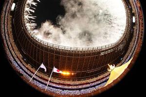تصویری متفاوت از مراسم افتتاحیه المپیک