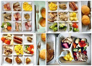 عکس/ غذای دهکده المپیک ژاپن