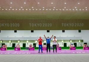 المپیک ۲۰۲۰ توکیو|طلایی کاروان ایران پیروزیاش را به چه کسی نسبت داد؟ + عکس