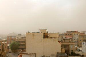 عکس/ بام ایران در حصار گرد و غبار