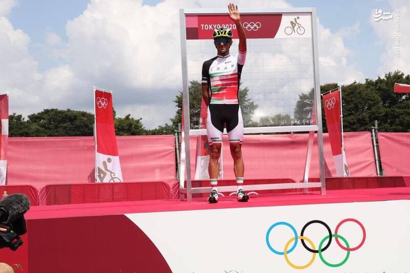 سعید صفرزاده نماینده دوچرخه سواری استقامت جاده کشورمان