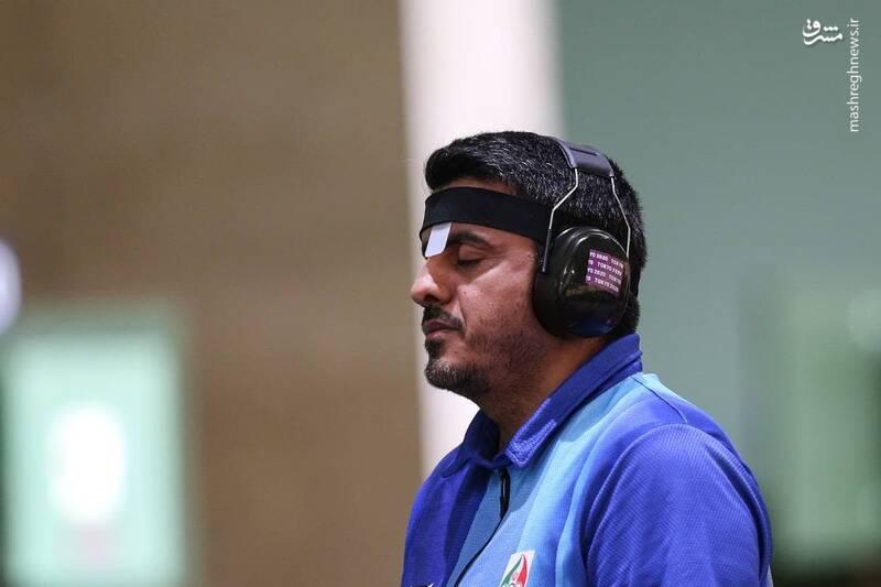 جواد فروغی صاحب رده نخست دنیا در ماده ۱۰ متر تپانچه