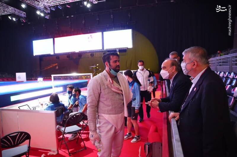 سیدرضا صالحی امیری رئیس کمیته ملی المپیک
