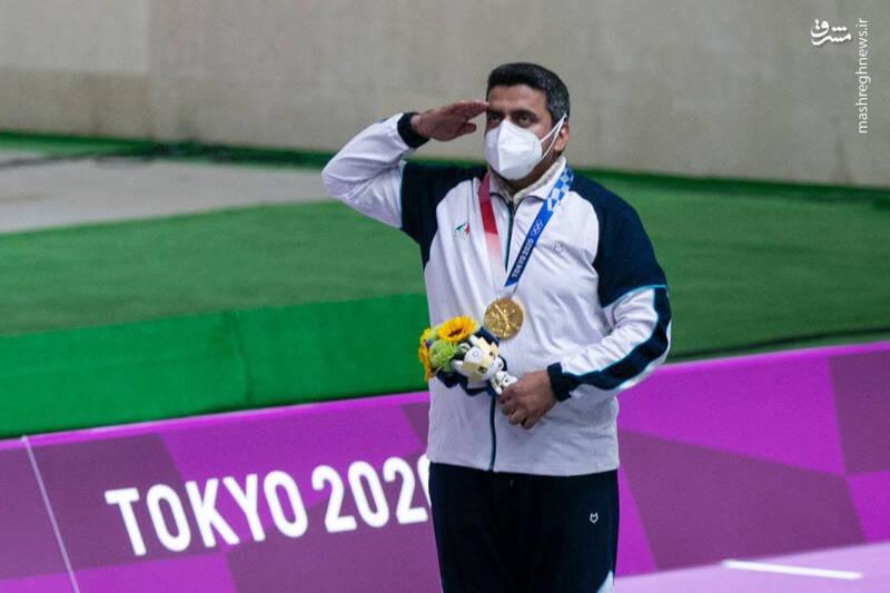 کسب نخستین طلای ایران در المپیک +عکس