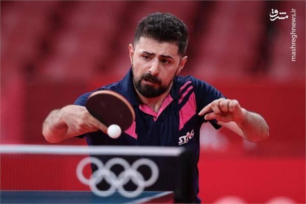 نیما عالمیان تنها نماینده تنیس روی میز کشورمان