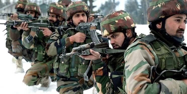اعزام ۱۵ هزار نظامی هند به لاداخ برای تقویت خطوط مرزی با چین