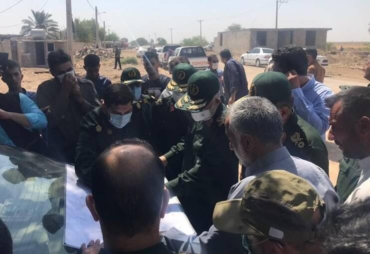 سردار سلامی: صبر و استقامت مردم خوزستان مثال زدنی است