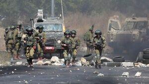 حمله صهیونیستها به تظاهرات علیه شهرکسازیها در کرانه باختری