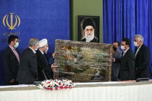 عکس/ آخرین جلسه شورای فناوری اطلاعات با حضور روحانی