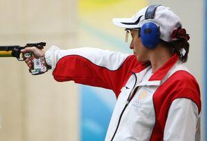ورزشکار زن ۵۲ ساله در المپیک رکورد زد