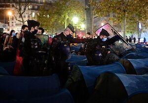 معترضان به محدودیتهای کرونایی دولت فرانسه با پلیس درگیر شدند