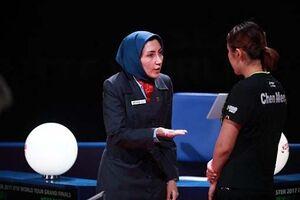 قضاوت داور المپیکی ایران در یک چهارم پایانی