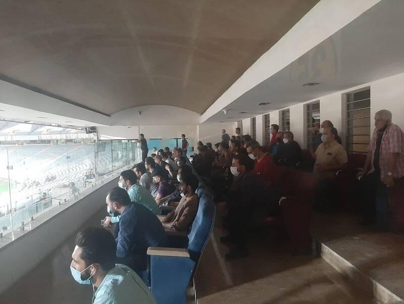 حضور تماشاگران در ورزشگاه آزادی! +عکس