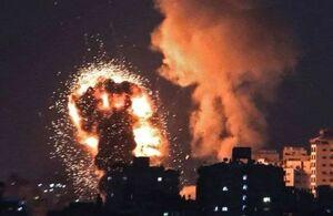 حملات هوایی رژیم صهیونیستی به نوار غزه