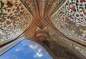 عکس/ کاشیکاری چشمنواز مسجد وکیل شیراز