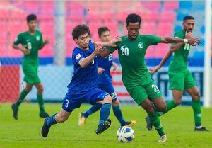 المپیک ۲۰۲۰ توکیو| عربستان طلسم کسب امتیاز را نشکست/ ۸ بازی و ۸ شکست در فوتبال المپیک