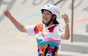 دختر ۱۳ساله ژاپنی طلایی شد اما تاریخساز نه!
