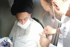 آیتالله علویگرگانی واکسن ایرانی کرونا دریافت کرد