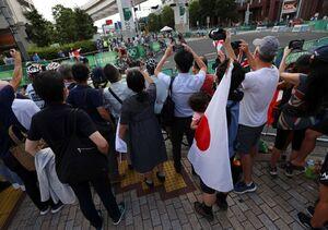 تماشاگران پنهانی در المپیک توکیو! + عکس