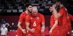المپیک توکیو| نبرد همگروههای والیبال ایران را لهستان برد