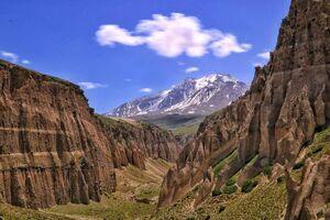 ارتفاعات زیبای سبلان