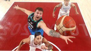 رکورد بسکتبالیست اسلوونیایی در المپیک با کسب ۳۱ امتیاز در یک نیمه