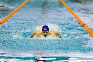 درخشش متین بالسینی در شنا ۲۰۰ متر پروانه