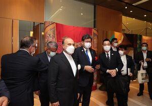 المپیک ۲۰۲۰ توکیو| نمایشگاه ایران زیبا در توکیو گشایش یافت