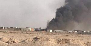 حملات پهپادی به یکی از مراکز حشد الشعبی در نجف اشرف+فیلم