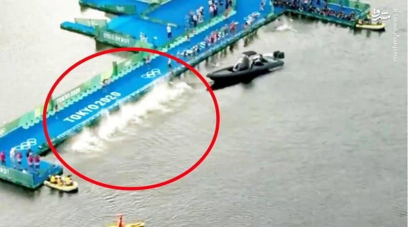 شلیک اشتباهی تفنگ استارت در المپیک +عکس