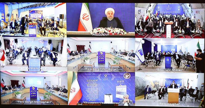 افتتاح چند طرح محیط زیستی با حضور روحانی