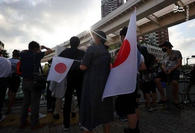 تماشاگران پنهانی در المپیک توکیو +عکس