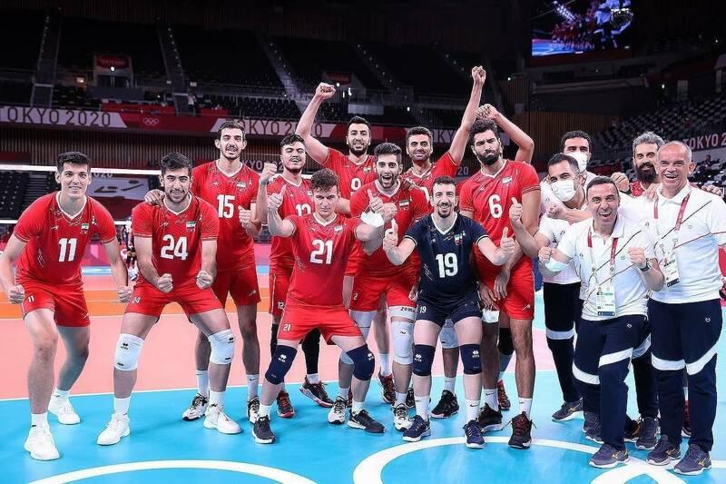 پیروزی تیم ملی والیبال ایران مقابل تیم ملی ونزوئلا
